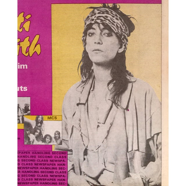 Modern Vintage 'Gold Mine: Patti Smith' 1988 Collectible Magazine For Sale - Image 3 of 3