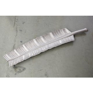 1960s Aluminum Banana Leaf Tray Royal Hickman Rh5 by Bruce Fox Preview