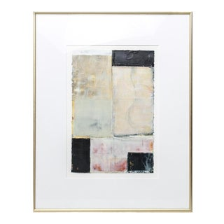 Bernd Haussmann Abstract Modern Mixed Media on Paper For Sale