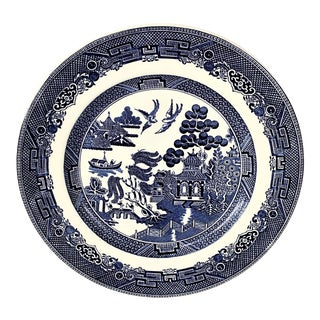 Vintage Blue Willow Plate For Sale