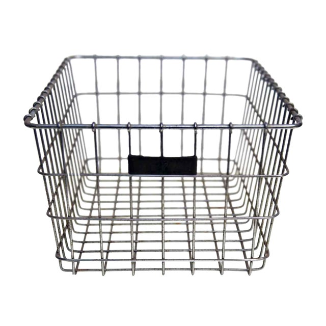American Wire Form Co. No. 27 Metal Basket For Sale