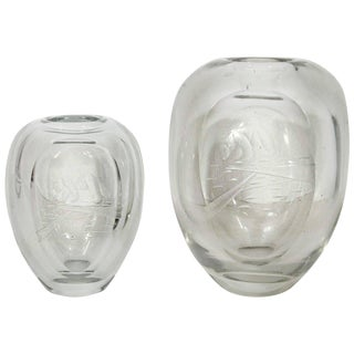 """Callisto Myth"" Crystal Vases For Sale"