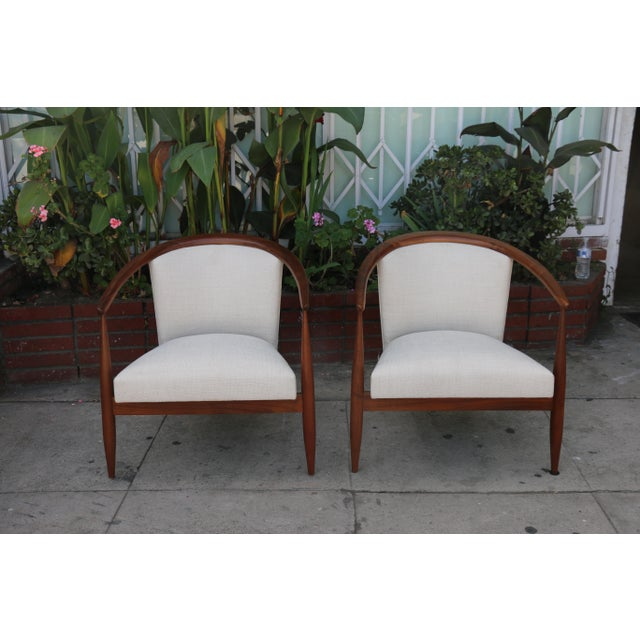 Mid-Century Modern Kodawood Lounge Chairs - a Pair For Sale - Image 3 of 11
