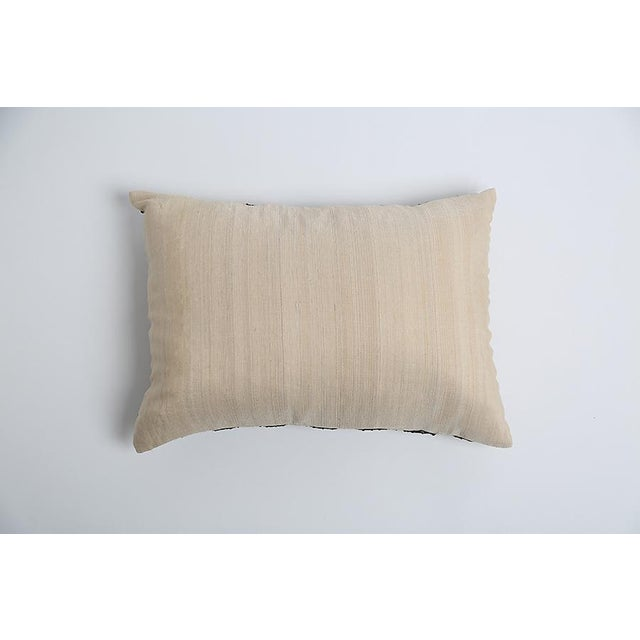 Pyar Contemporary Black Beaded Pillow - Image 3 of 3