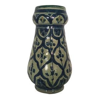 1960s Vintage Persian Iznik Vase For Sale
