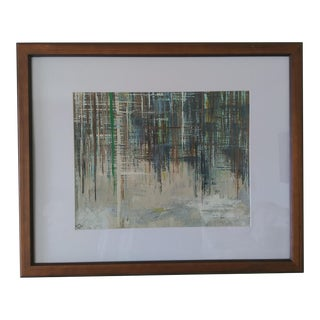 Original Sjs Abstract Acrylic Painting For Sale