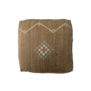 'Desert Taupe' Moroccan Floor Pillow For Sale