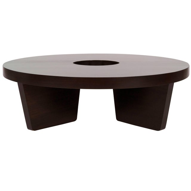 Mahogany Harvey Probber Nucleus Coffee Table, 1952 For Sale - Image 10 of 10