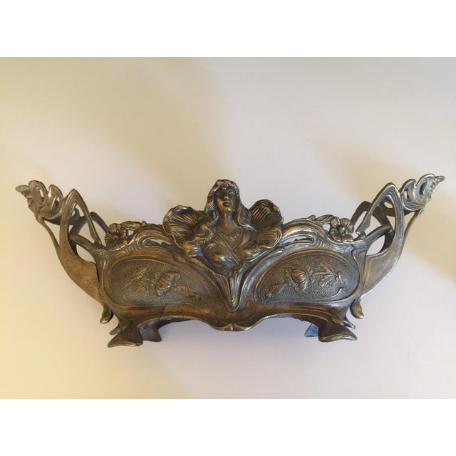 1920s Bronze Art Nouveau Jardiniere For Sale - Image 11 of 11