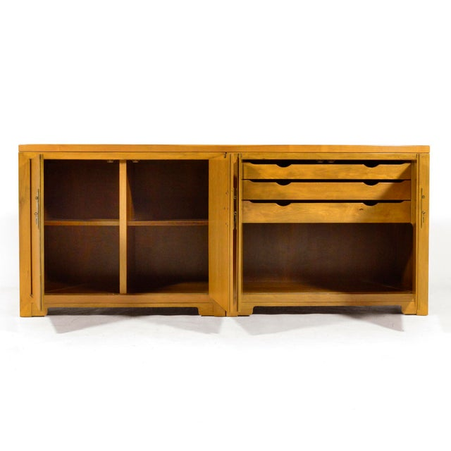 "Baker Furniture Company Michael Taylor ""Far East"" Credenza by Baker For Sale - Image 4 of 11"