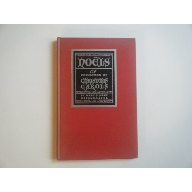 1932 Noels: Collection of Christmas Carols, Signed - Image 2 of 6