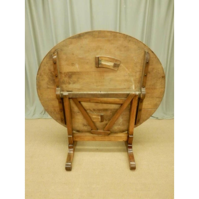 Early 19th Century French Provincial Wine Table For Sale In New Orleans - Image 6 of 9