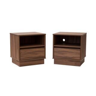 Pair of Midcentury Nightstands For Sale