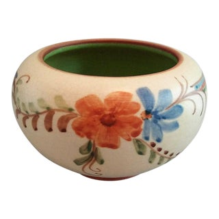20th Century Cottage Weller Pottery Bowl For Sale