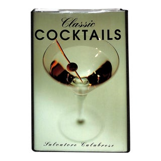Classic Cocktails Book For Sale