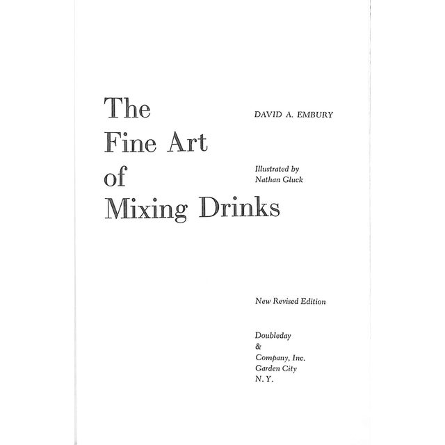 """Art Deco """"The Fine Art of Mixing Drinks"""" Book For Sale - Image 3 of 5"""
