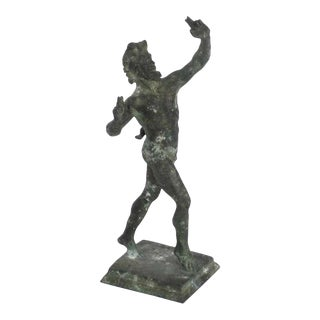 Antique 19th-Century Fonderia De Luca Napoli Grand Tour Bronze Statue For Sale