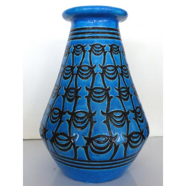 Longwy Atelier Primavera Art Deco Vase Chairish