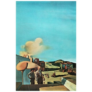 """1957 Salvador Dali """"La Harpe Invisible Fine Et Moyenne"""" Original Period Photogravure For Sale"""