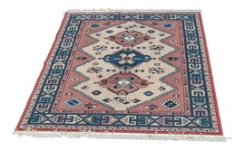 Image of Cream Contemporary Machine-Made Rugs