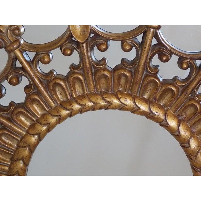 Regency Regency Style Round Mirror For Sale - Image 3 of 8