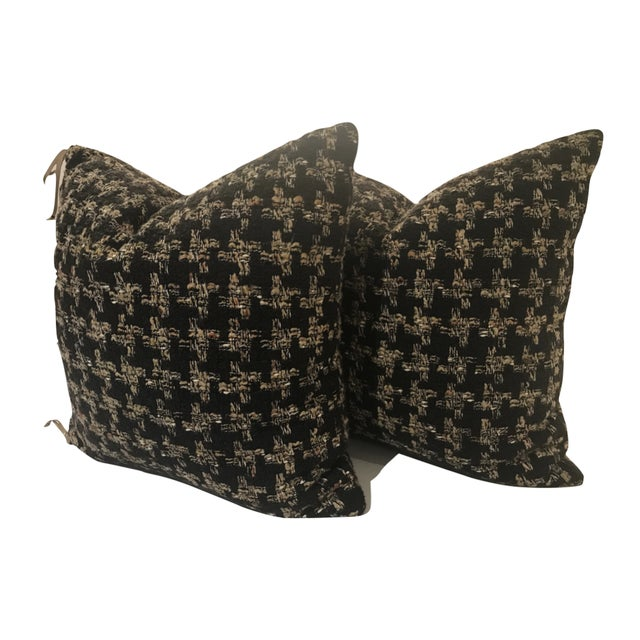 Holland & Sherry Accent Pillows - a Pair - Image 6 of 6