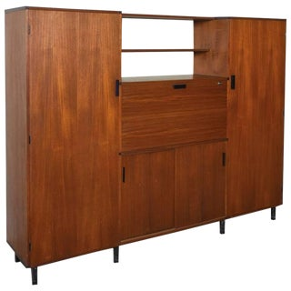 Wardrobe Designed by Cees Braakman 1950s for Pastoe For Sale