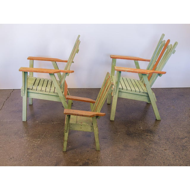 Family Set of Adirondack Chairs - Image 6 of 11