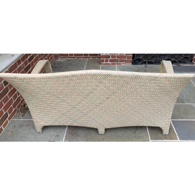 Brown Jordan Havana Seagrass Loveseat For Sale In Atlanta - Image 6 of 7