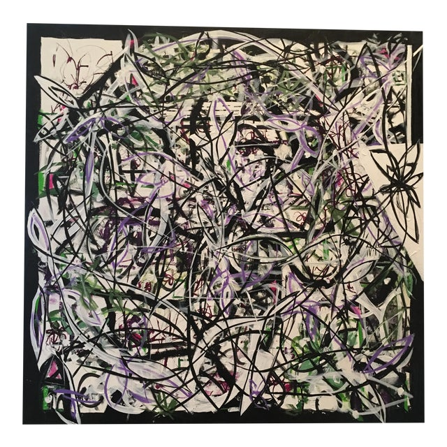 """Patterned Chaos"" Original Art by JJ Justice - Image 1 of 10"