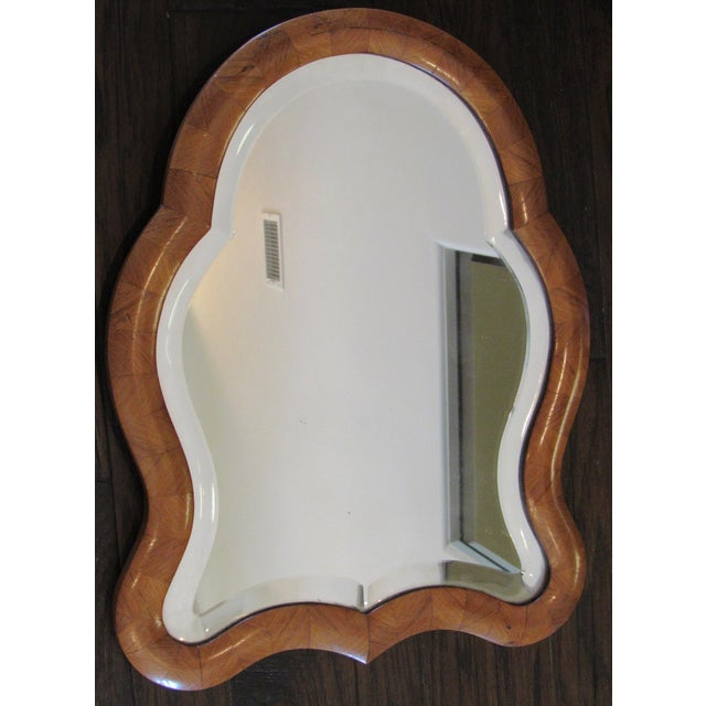 Antique Wood Framed Tabletop Mirror For Image 5 Of