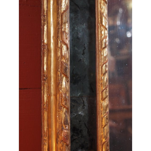 19th Century Italian Gilt Wood Mirror - Image 6 of 8