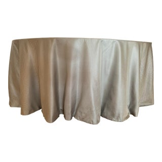 Clarence House Silk Table Skirt For Sale
