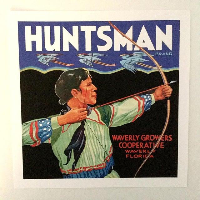 Huntsman Brand, Waverly Florida - Vintage Citrus Crate Label Fine Art Print - Image 2 of 2