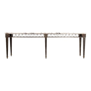 French Early 20th Century Console in the Gilbert Poillerat Style For Sale