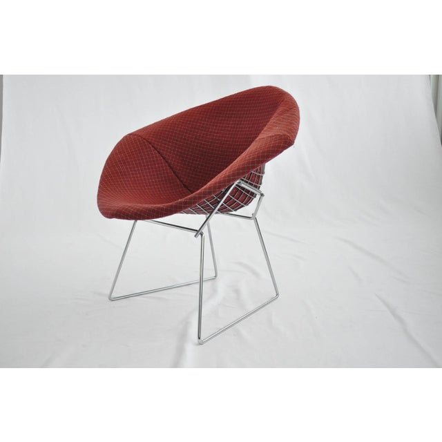 Harry Bertoia Diamond Dining Chair With Cover - Image 6 of 6