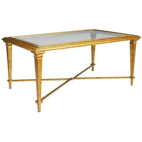 Bristol Gold-Leaf Coffee Table - Image 1 of 3