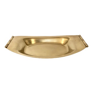Tommi Parzinger Brass Catchall For Sale