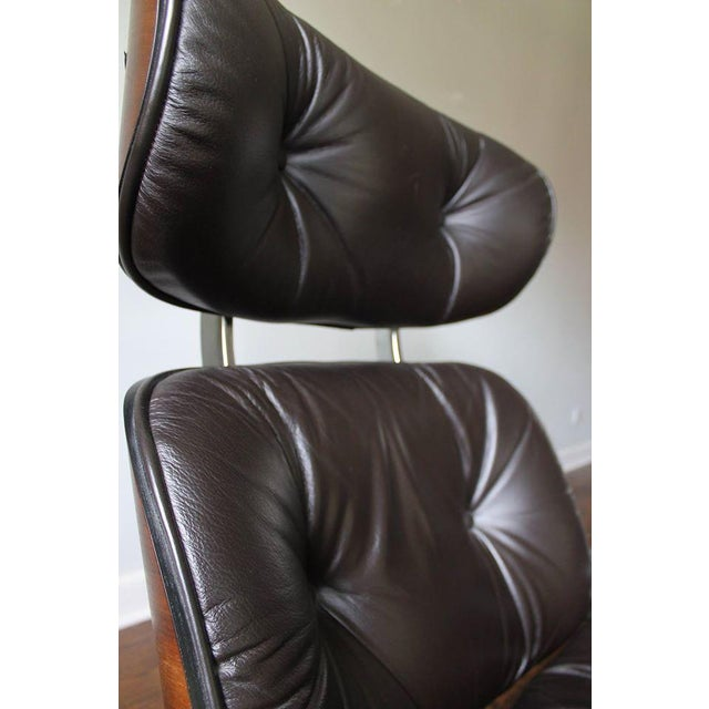 Plycraft Mid-Century Lounge Chair & Ottoman - Image 9 of 10