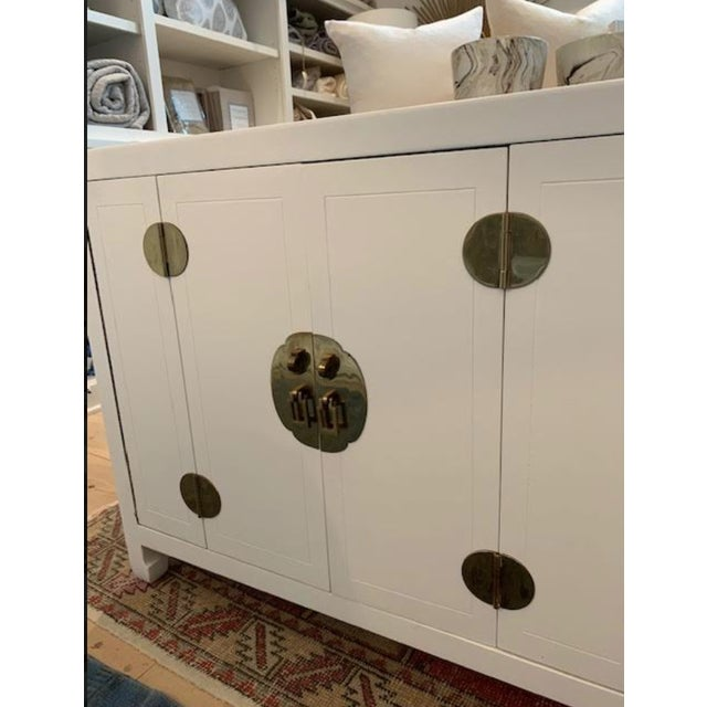 Mid-Century Modern 1960s Henredon Ming Console For Sale In Nashville - Image 6 of 13
