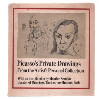"""1969 """"Picasso's Private Drawings: Personal Collection"""" Collectible Book For Sale"""