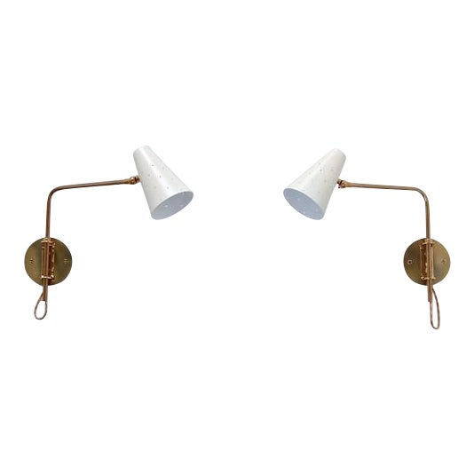 LUbrary Sconces - Image 1 of 11