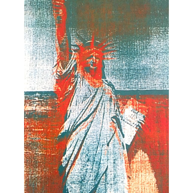 Image result for andy warhol statue of liberty