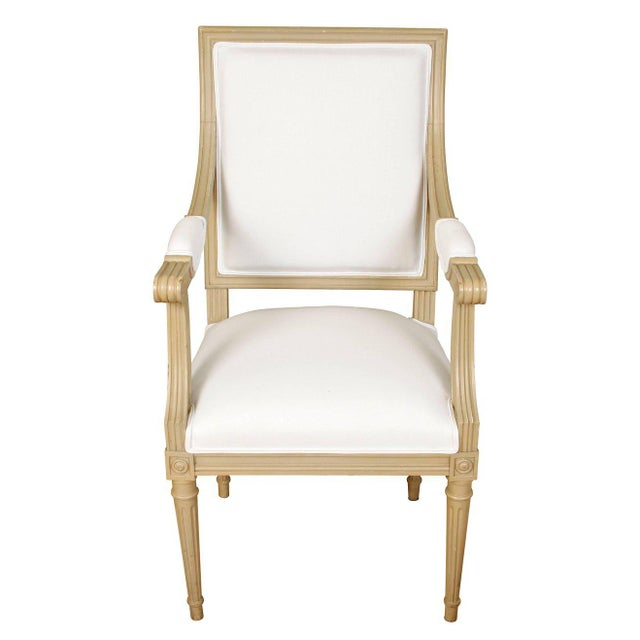 Set of Ten Louis XVI Style Dining Chairs - Image 5 of 9