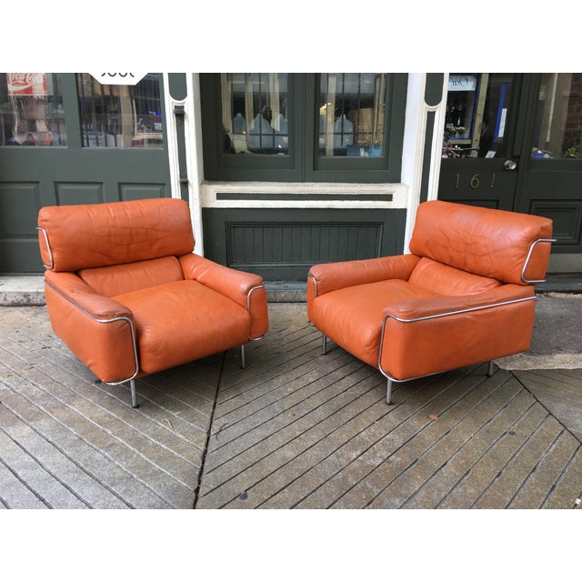 Saporiti Lounge Chairs - a Pair For Sale - Image 13 of 13