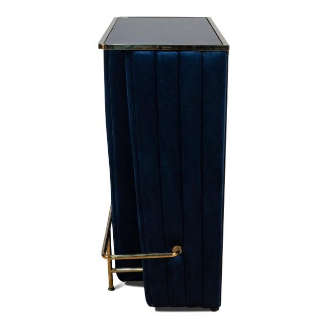 Sarreid Ltd. Blue Regal Bar For Sale - Image 4 of 7
