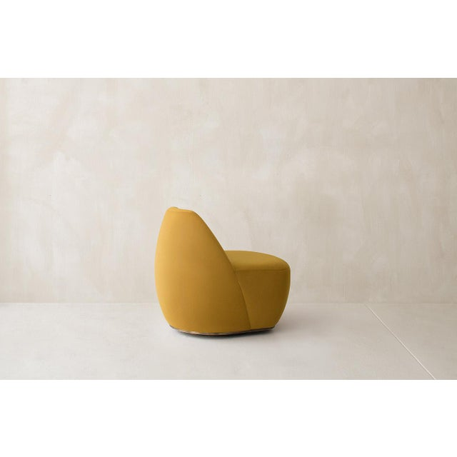 Not Yet Made - Made To Order Calonia Swivel Chair For Sale - Image 5 of 6