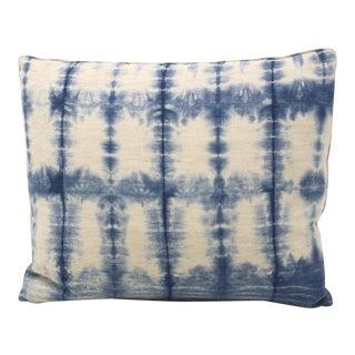 Hand-Dyed Indigo Pillow