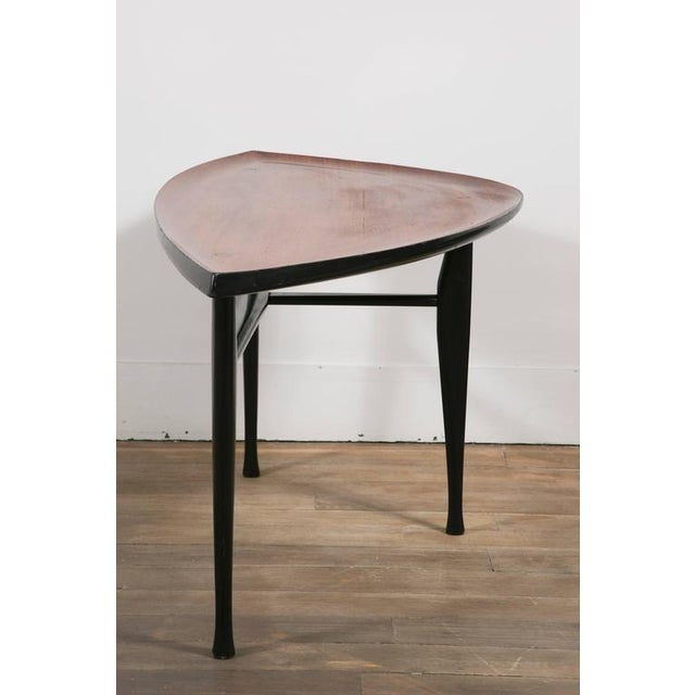 Brown Leaf' Occasional Table by Yngve Ekstrom For Sale - Image 8 of 10