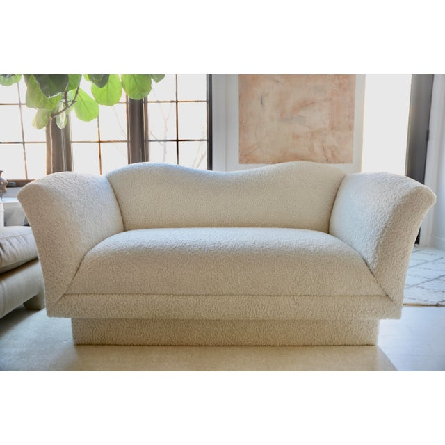 1980s Vladimir Kagan Loveseat by Directional For Sale - Image 5 of 5